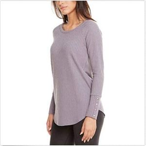 Chaser Lavender Long Sleeve Sweater size L